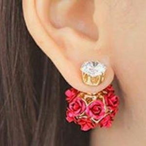Shellhard Crystal Earring Femme Brincos Elegant Wo